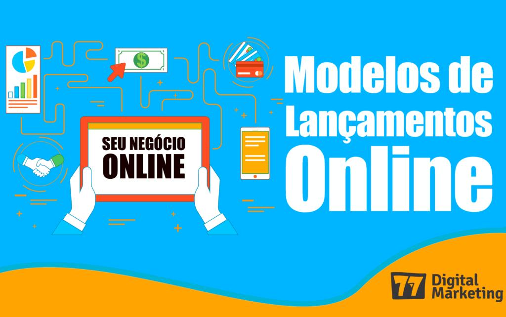 modelos lançamentos online